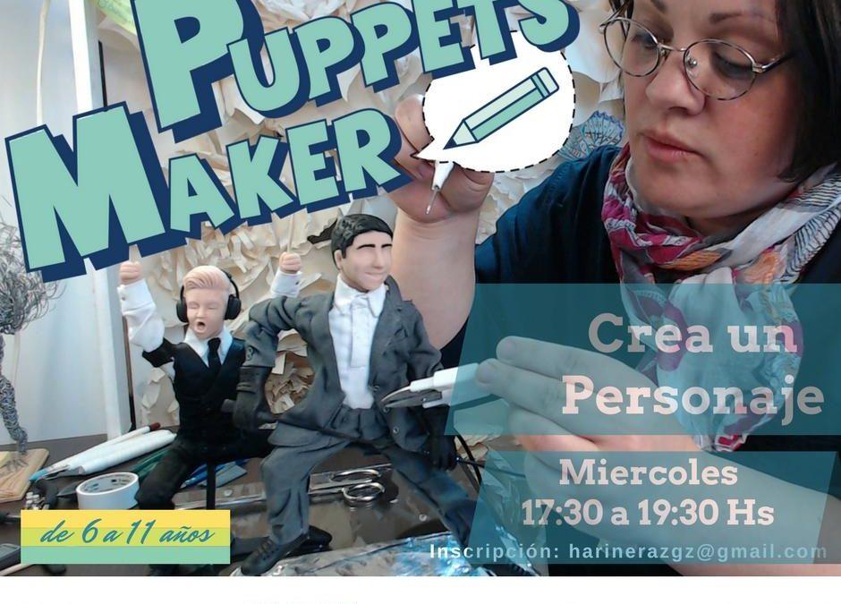 Taller sobre Puppets Maker, en Harinera ZGZ